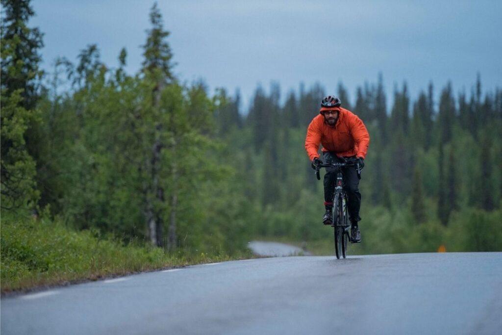 Cykling Laponia Triathlon