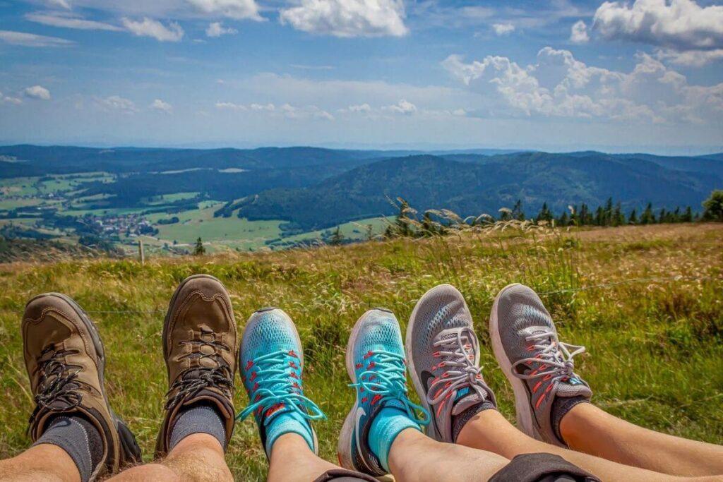 Löparskor för vandring