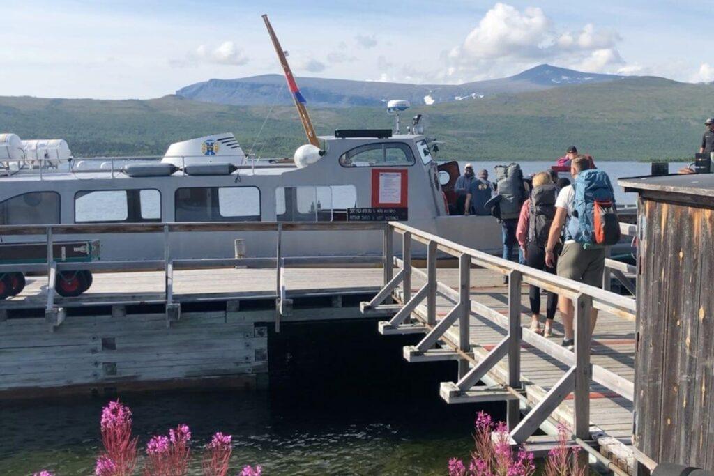 Saltoluokta båt